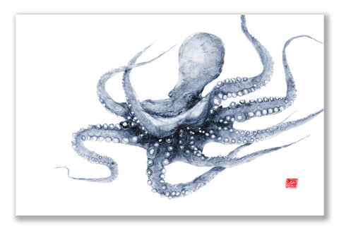 Swimming Octopus Placemat