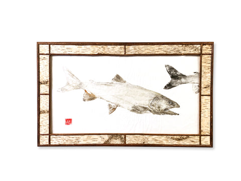 Lake Trout - Original Framed Print