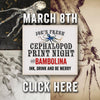 March 8th  Cephalopod Night at Bambolina