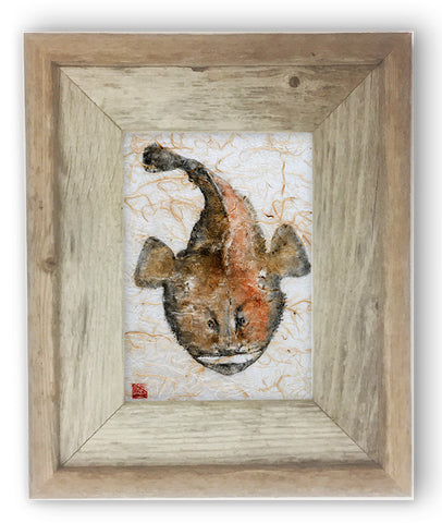 Small Framed monkfish