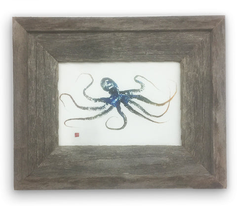 Small Framed Octopus