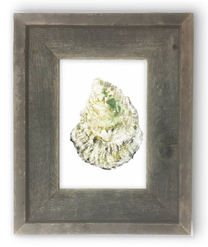 Small Framed oyster 2