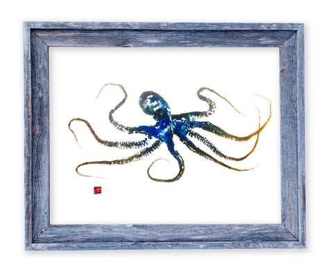26 x 22 framed octopus