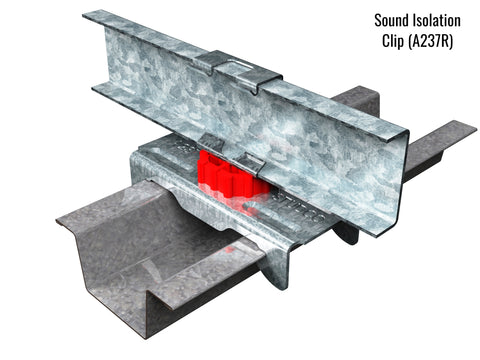 sound isolation clip