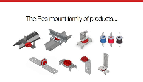 resilmount sound isolation solutions