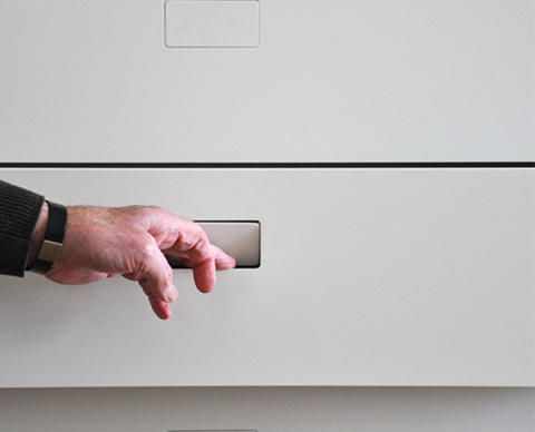 RocYork No-Ha Cabinet/Drawer Invisible Handle