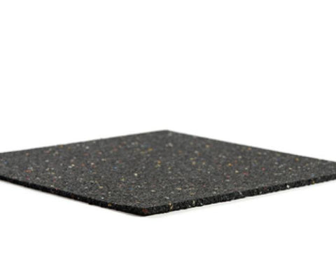 Resilmat® RM602 2mm Recycled Rubber Impact Sound Isolation Floor Underlayment (300sf/roll)