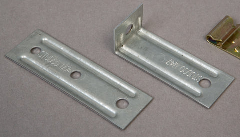 M74/M47 5mm Galvanized Rod Brackets