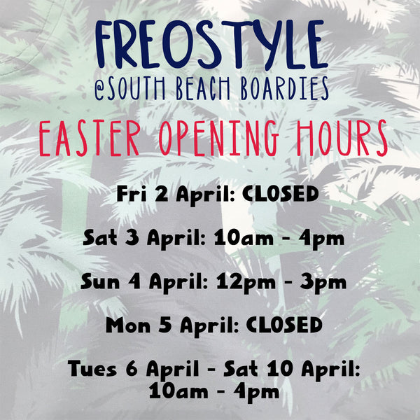 FREOSTYLE OPENING HOURS FREMANTLE STORE