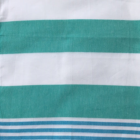 Aquamarine: authentic, 100% cotton Turkish Towel