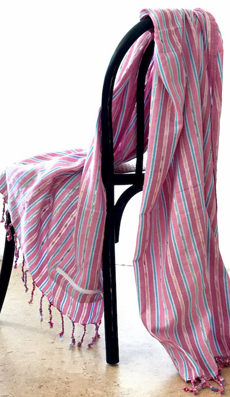 Berry: stylish, authentic Turkish Towel in 100% cotton