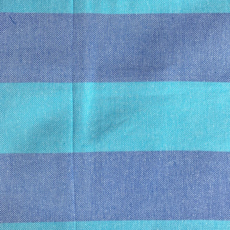 Big Blue Authentic Turkish towel in bold blue stripes