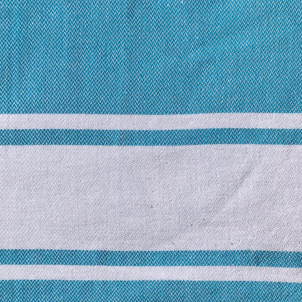 Freostyle Blue Stripe Gym Towel with pocket