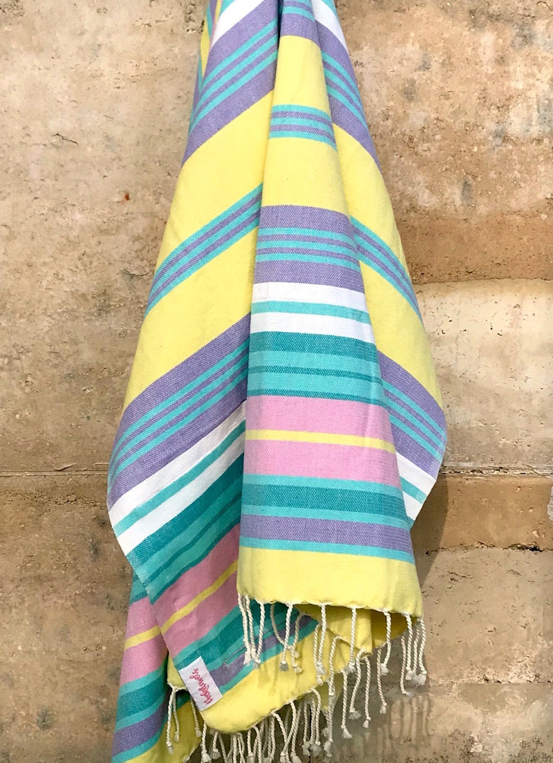 MALABAR POCKETOWEL, BEACH TOWEL WITH POCKETS