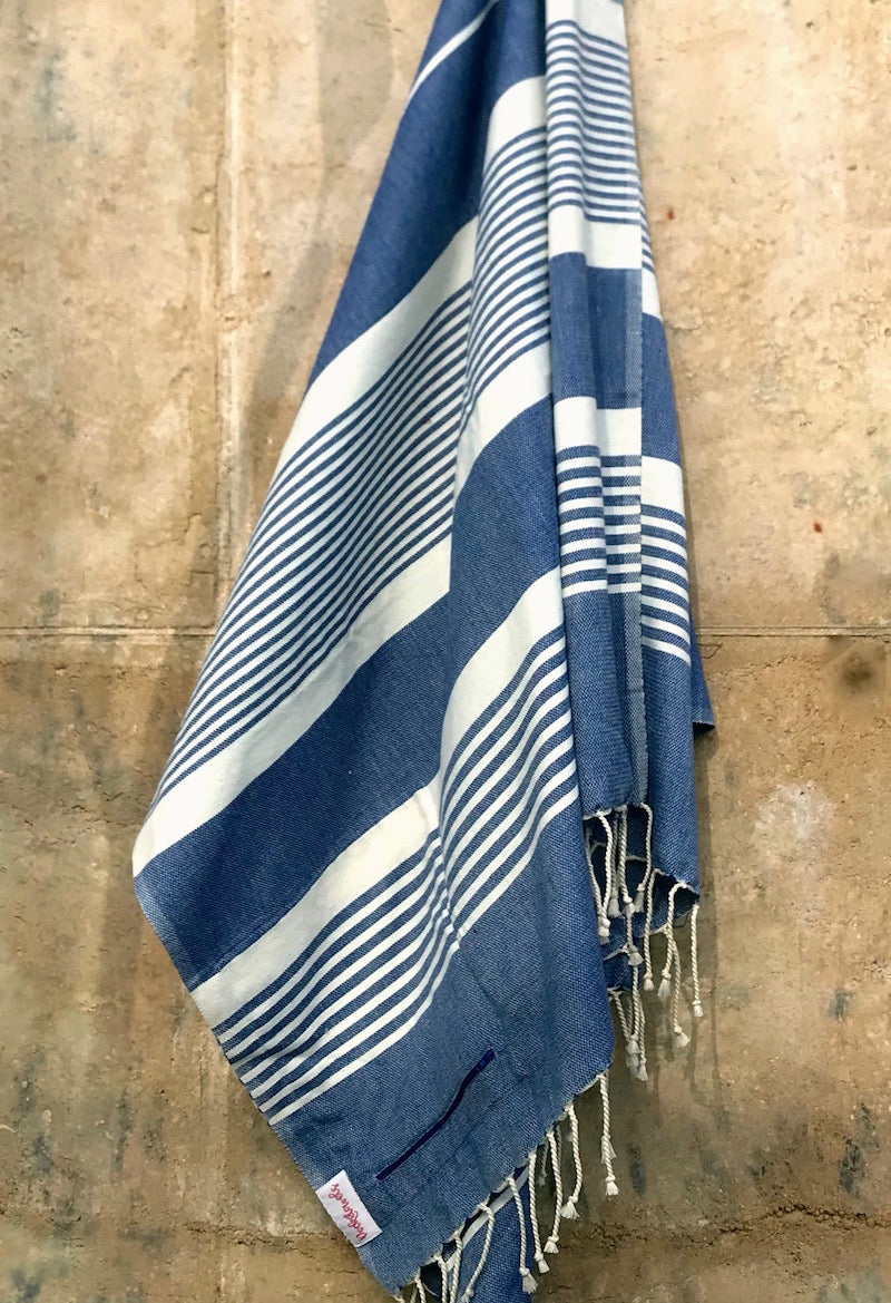 MARARI POCKETOWEL, BEACH TOWEL WITH POCKETS