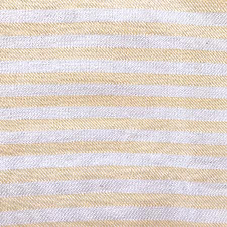 Sand Turkish Towel close up of stripes