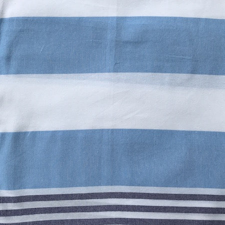 Seafarer: blue striped authentic Turkish towel
