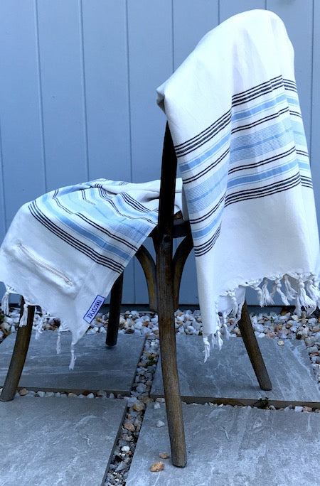 Soul Bamboo Turkish Towel displayed