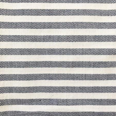 Star Gazer Turkish Towel close up of blue and cream stripes