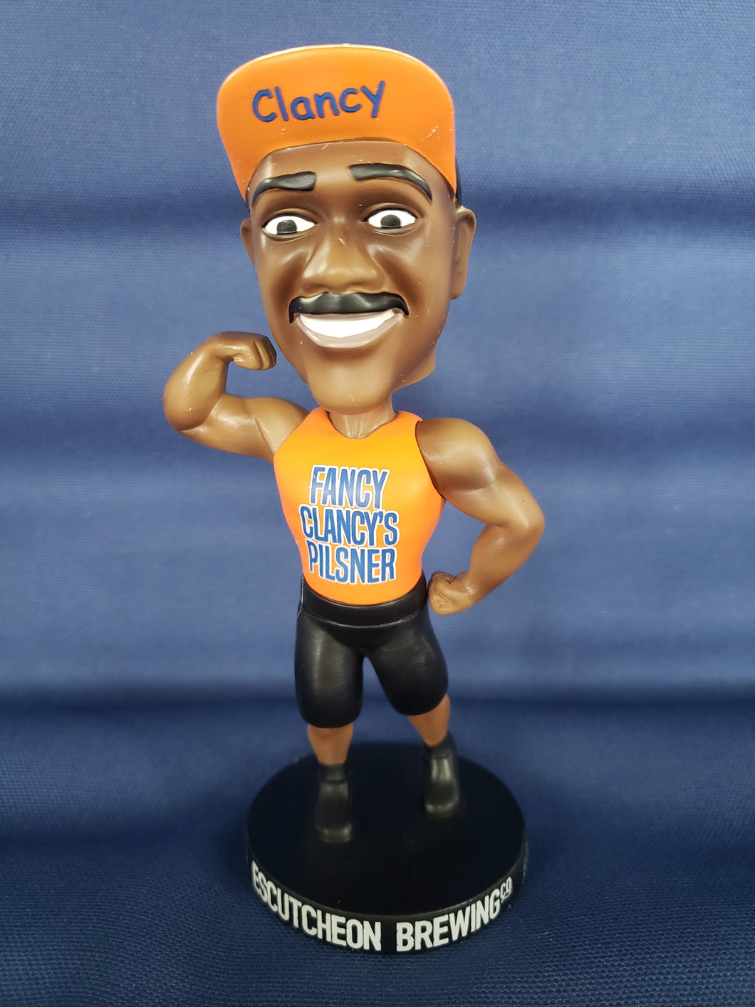 Fancy Clancy Bobble Head