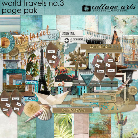 World Travels 3 Page Pak