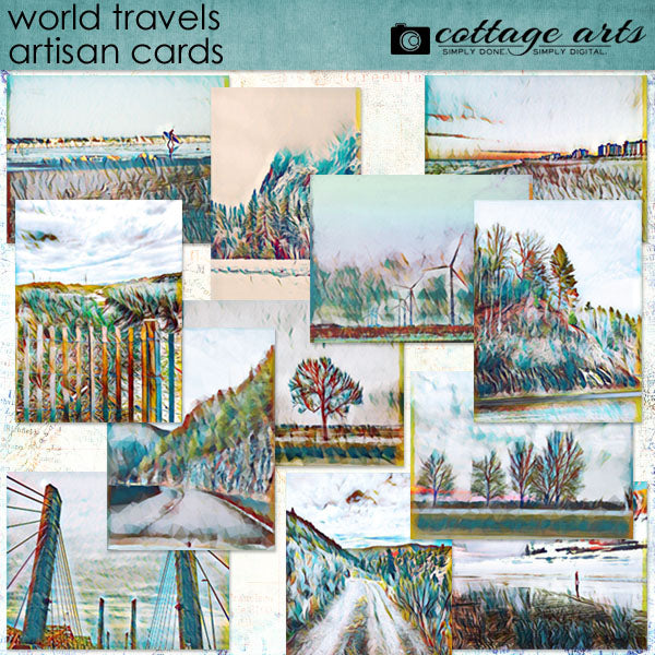World Travels Artisan Cards