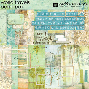 World Travels Page Pak