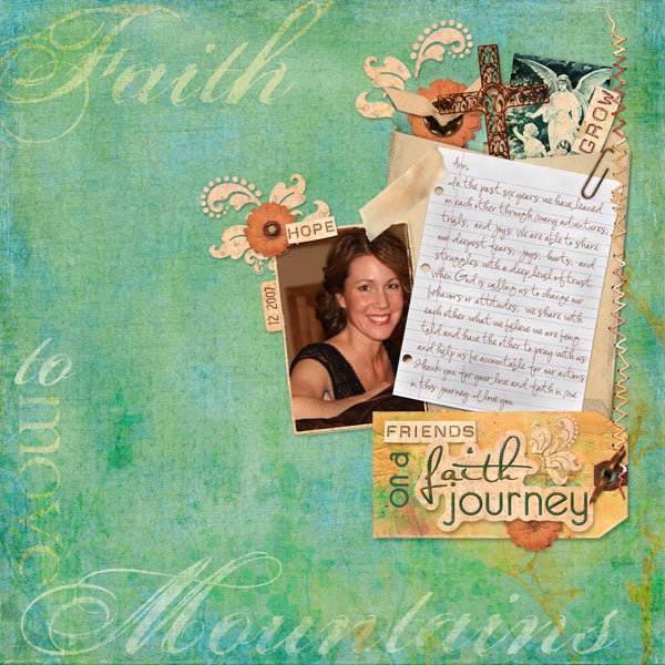 Faith Journey Tags & Labels