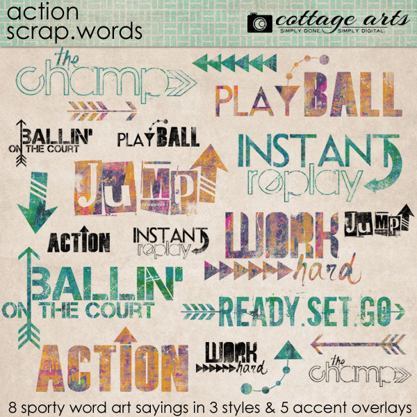 Action Scrap.Words
