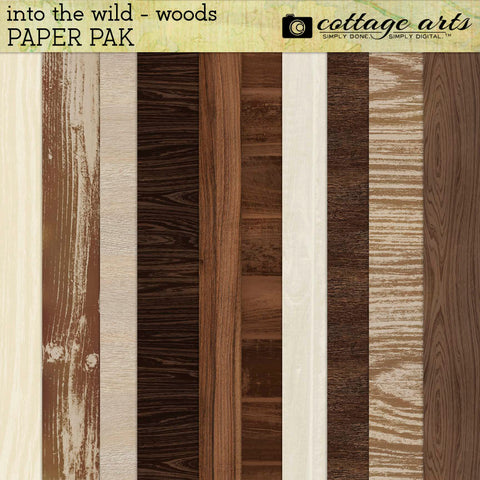 Into the Wild Woods Paper Pak