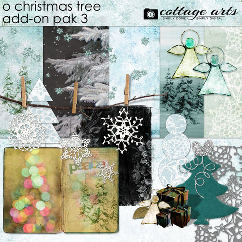 O Christmas Tree Add-On Pak 3