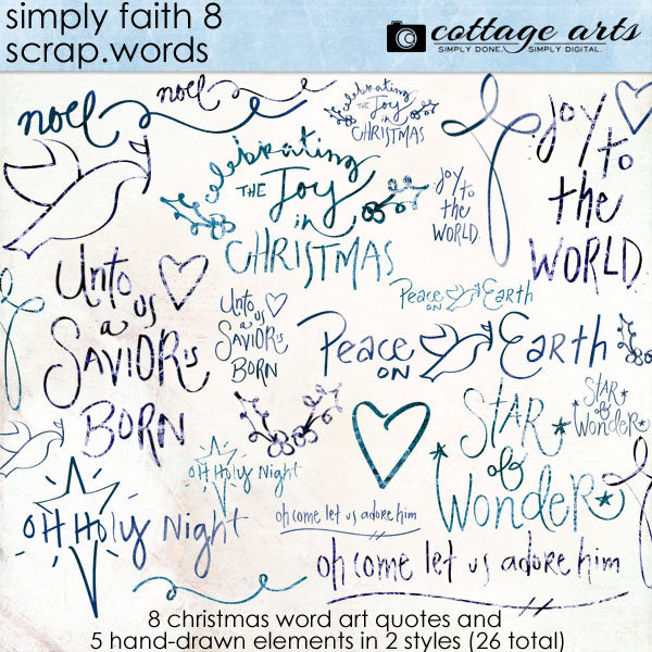 Simply Faith 8 Scrap.Words