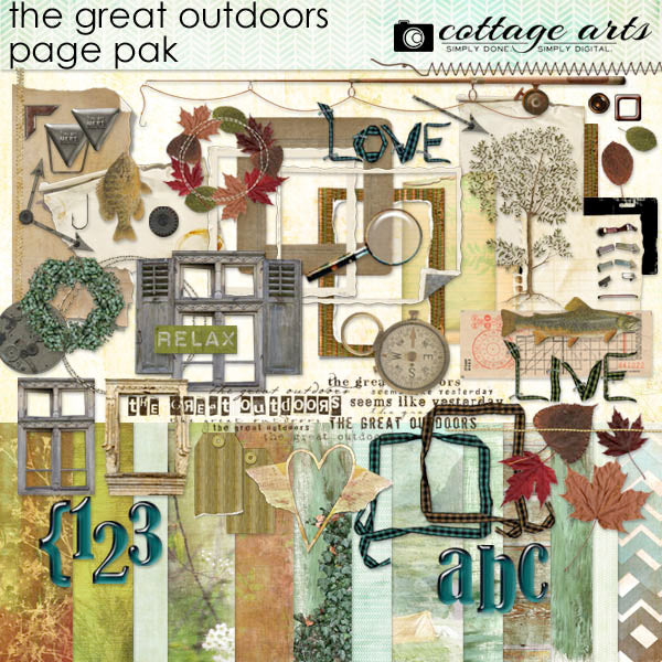 The Great Outdoors Page Pak