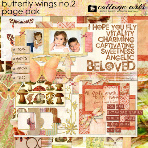 Butterfly Wings 2 Page Pak