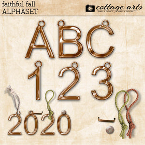 Faithful Fall AlphaSet