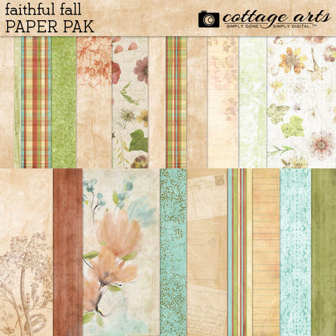 Faithful Fall Paper Pak