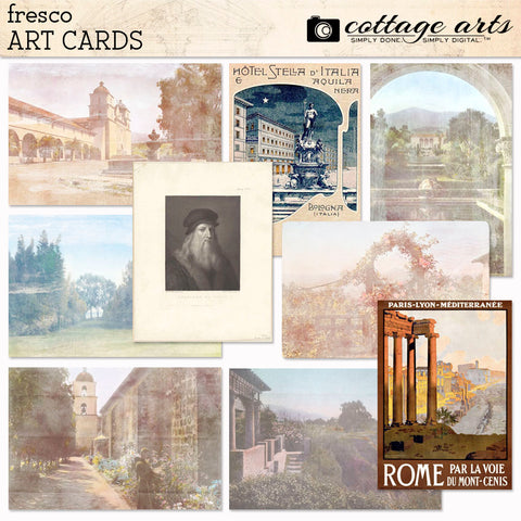 Fresco Art Cards