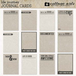 Life Journey Journal Cards
