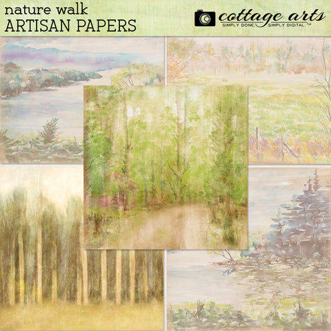 Nature Walk Artisan Papers