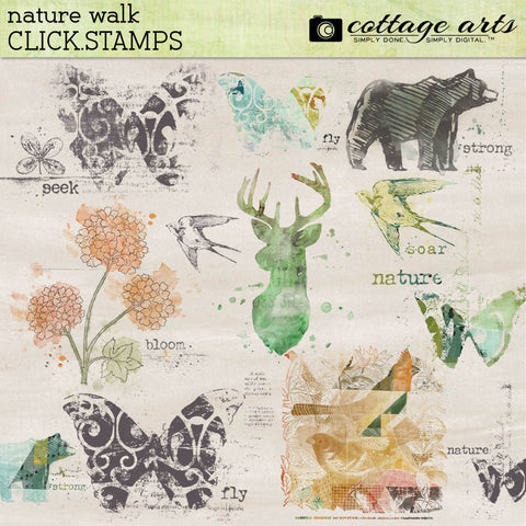 Nature Walk Click.Stamps