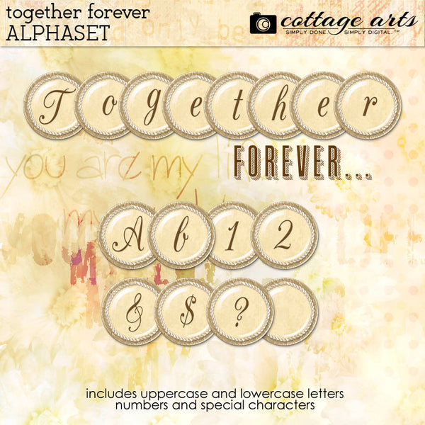 Together Forever AlphaSet