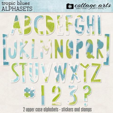 Tropic Blues AlphaSets