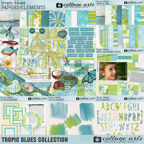 Tropic Blues Collection