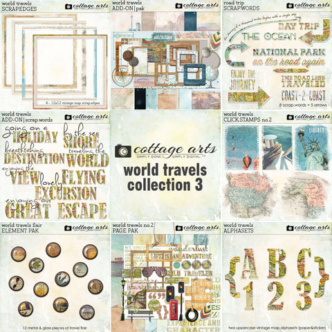 World Travels Collection 3