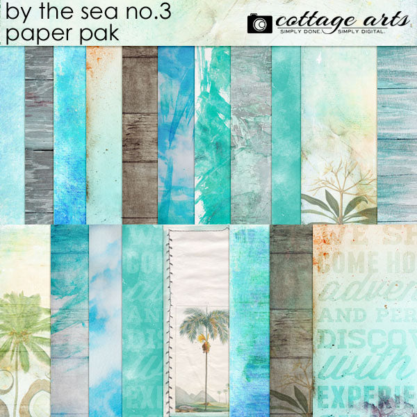 By the Sea 3 Paper Pak