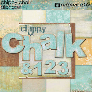 Chippy Chalk AlphaSet