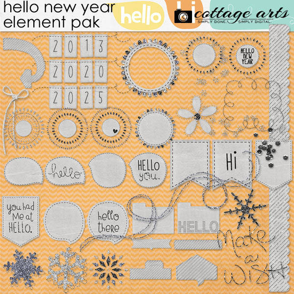 Hello New Year Collection