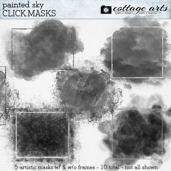 Painted Sky Click.Masks