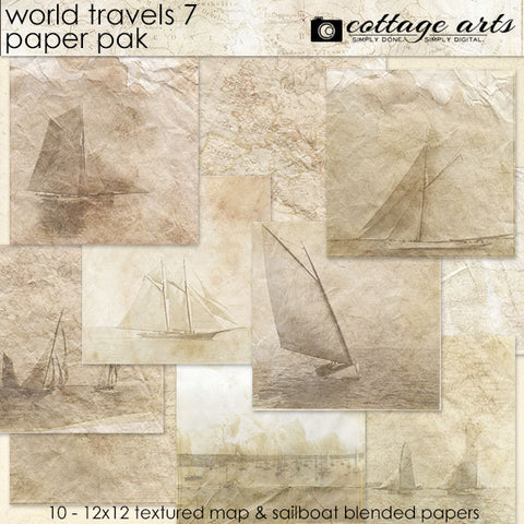 World Travels 7 Paper Pak