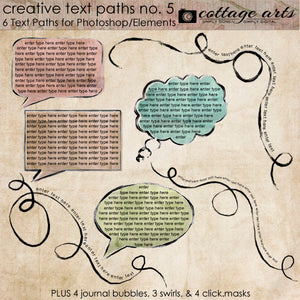 Creative Text Paths /Masks 5